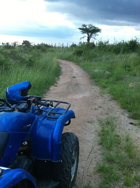 Quad biking, Kenya