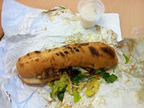 Hula Girl sandwich