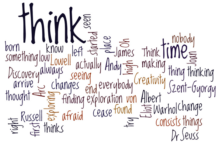Five Random Quotes: Creative Thinking | A Random Journey