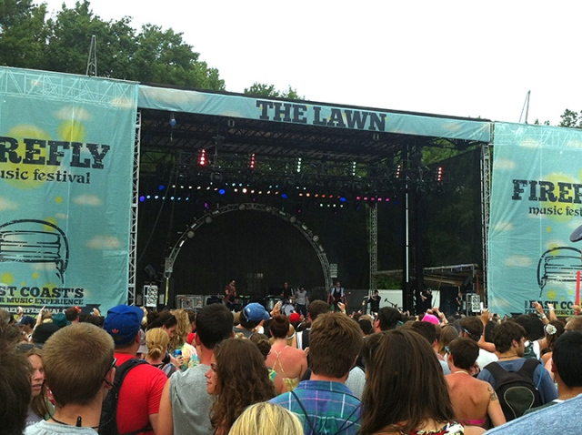 The Lawn Stage