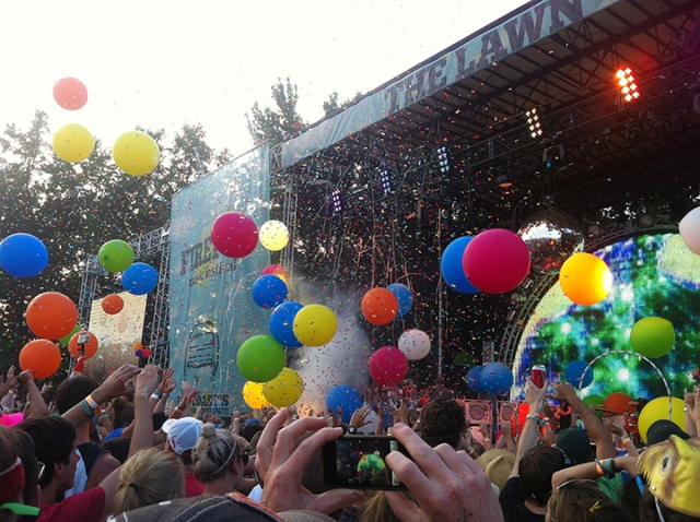 Flaming Lips Exploding