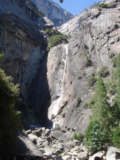 Yosemite Falls - minus the water