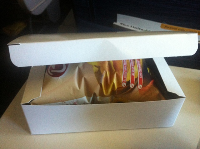 Just a box of potato chips!