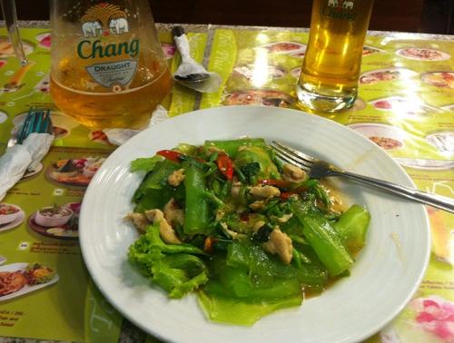 Green Noodles - Bangkok