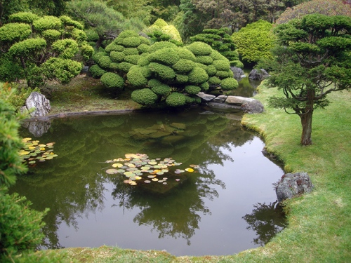 Green Japanese Garden - San Francisco