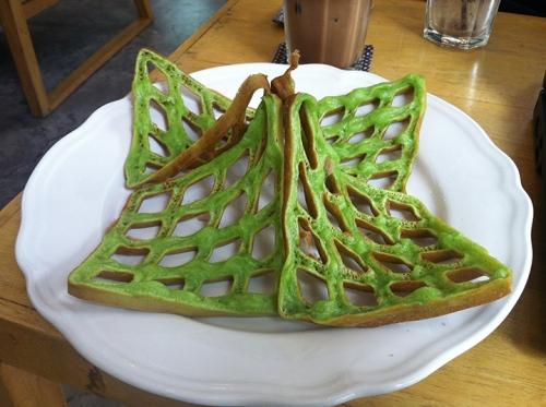 Green Waffle - Bangkok