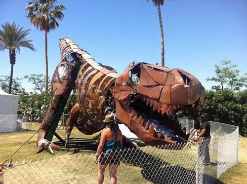 Recycling T-Rex