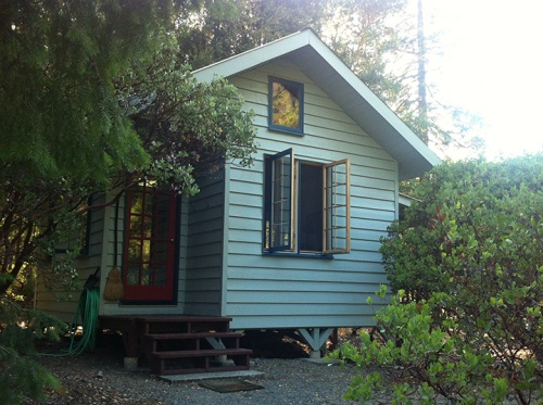 Manzanita Cabin and my home for a week