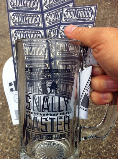 Snalleygaster beer to mouth delivery mechanism