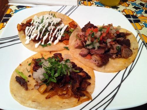 I say now, damn good tacos at Mama Chuy!