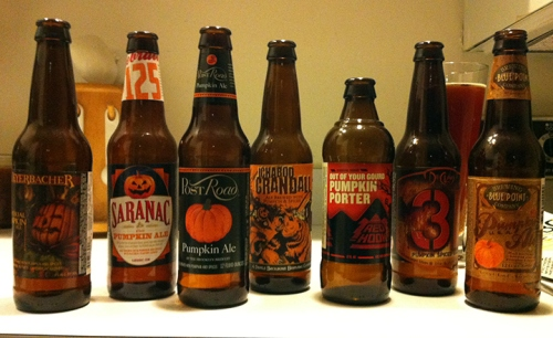 I don't always drink pumpkin beers, but when I do, I don't mess around.