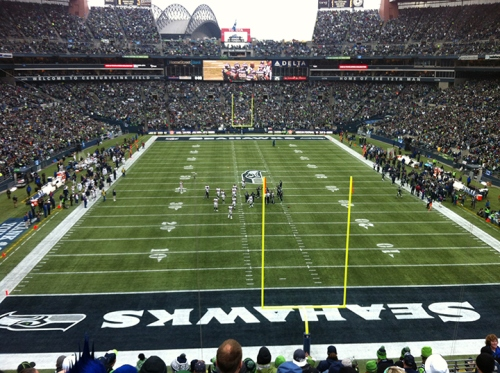 Seahawks clinch the NFC West Division and #1 seed