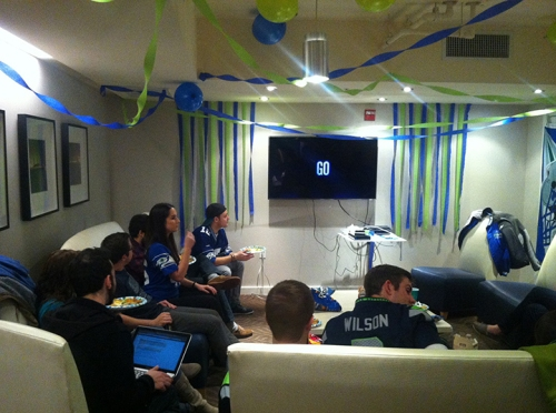 The power of feng shui leads the Seahawks to Super Bowl victory!