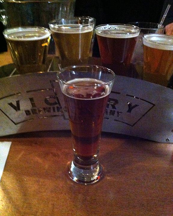 Victory! Beer!