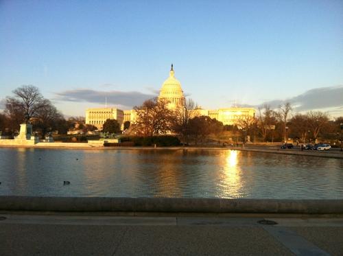 This is Washington, D.C. Don't enjoy it.