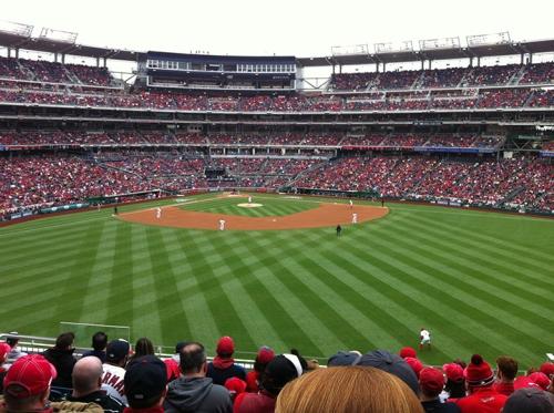 Opening Day! Bring on the baseball season!