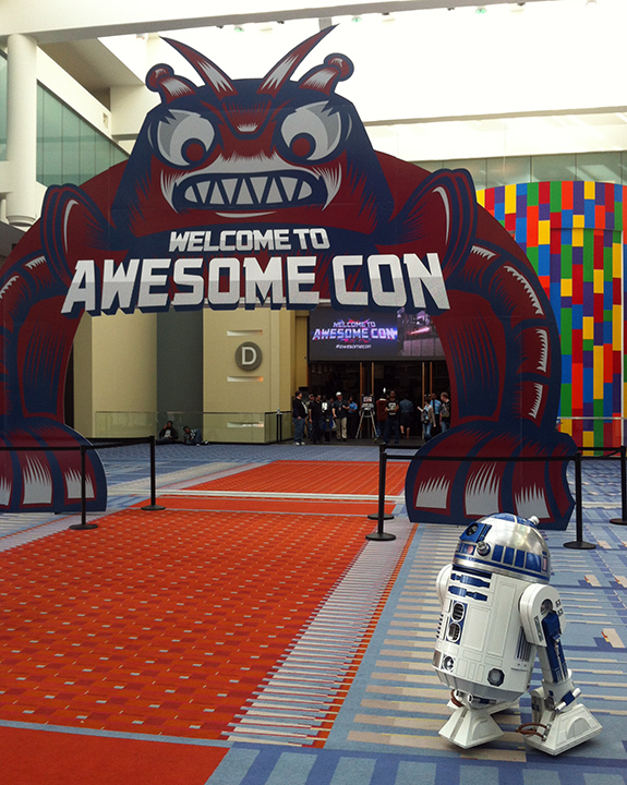 I suggest a new strategy, Artoo: let Awesome Con win.