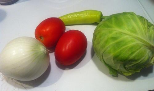 Wait, those tomatos are fruit...
