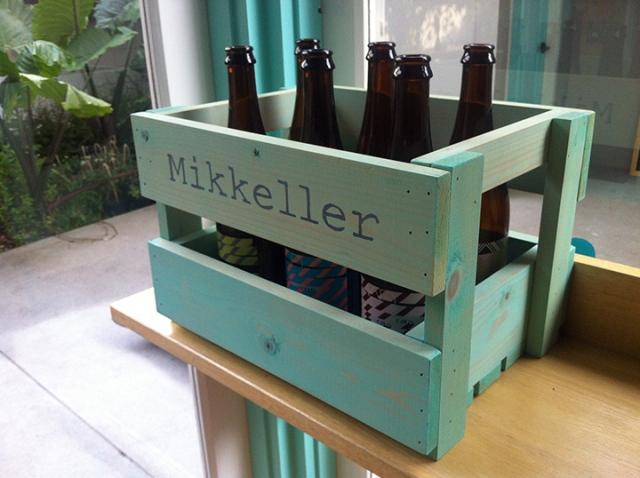 Nobody puts crate of bottles in the corner!