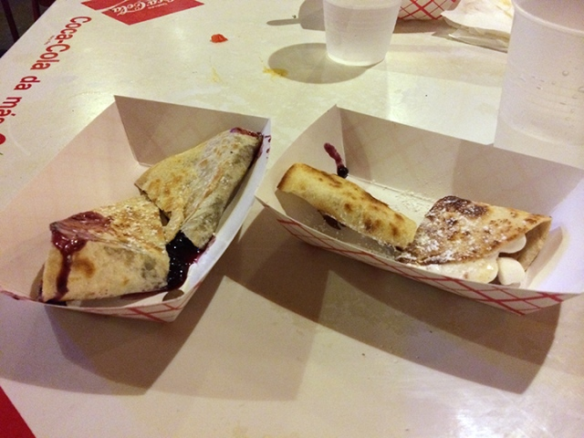 Dessert tacos!