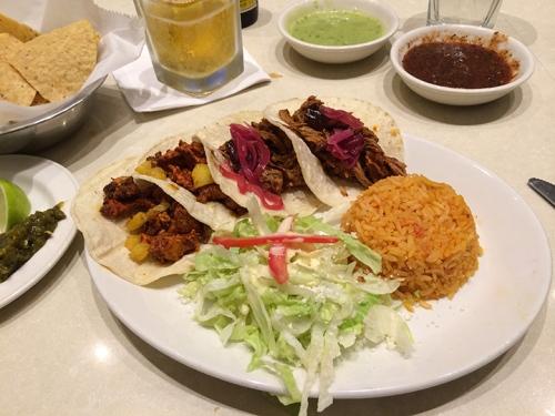 A la The Taco Diner