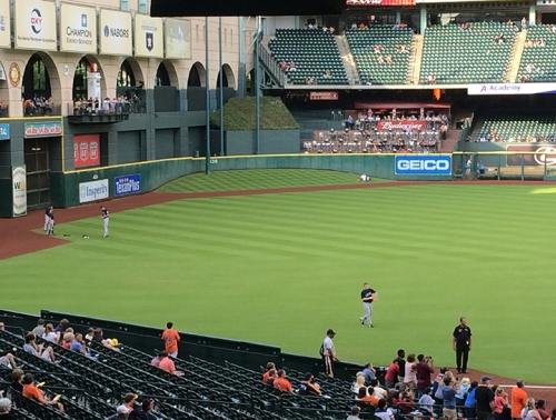 Tal's Hill in centerfield