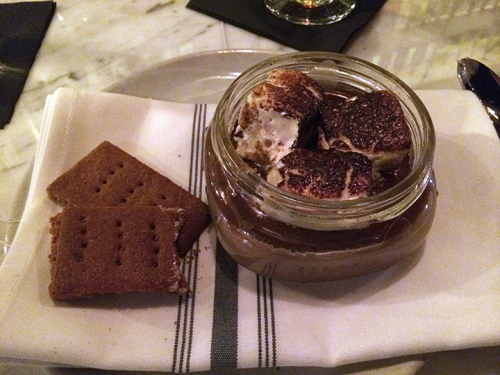 S'mores Pot du Creme at DC Harvest