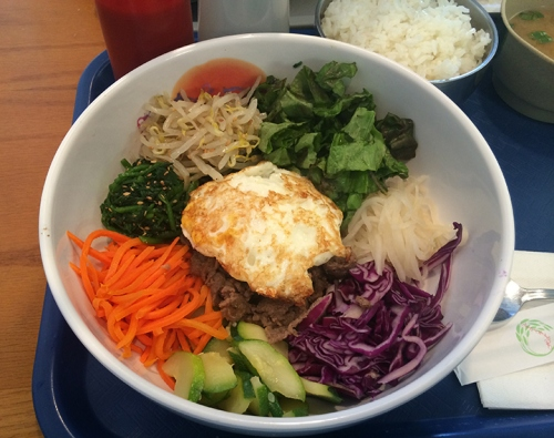 Get you some Bi Bim Bap at YoonHa's Kitchen