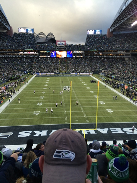 Rams at Seahawks! Victory!