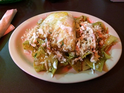 Gimma some Chilaquiles! Now!
